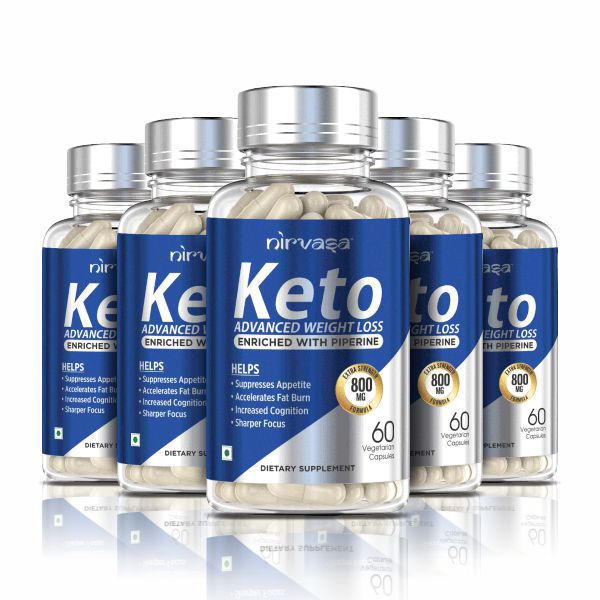 Keto Advanced Weight Loss Capsules- 5 Bottles Pack